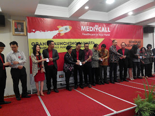 Grand Launching Aplikasi Medi-Call (dokumen pribadi)