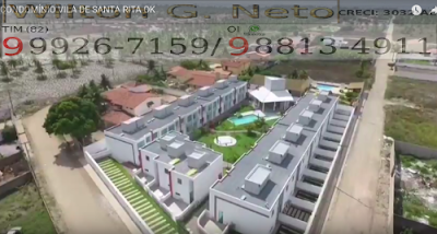 Nesta perspectiva podemos ver uma ótima imagem que mostra o interior do condomínio e sua distribuição
