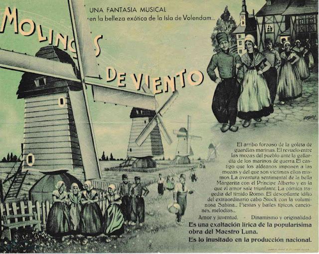 9bc5c94aff Interior doble del programa de mano español entregado durante el estreno en  1939 de