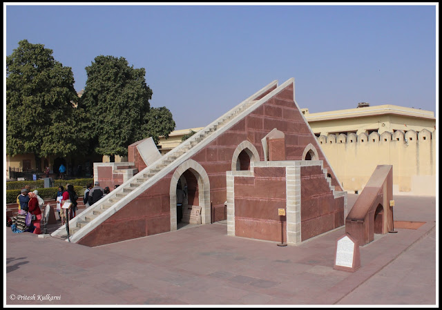 At Jantar Mantar, JAipur