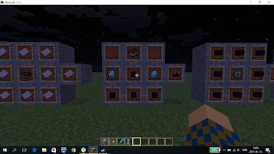 minecraft varázsló asztal crafting