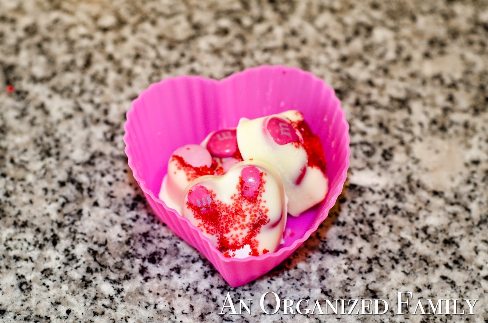 An Organized Family: Valentine Candies with Essential Oils