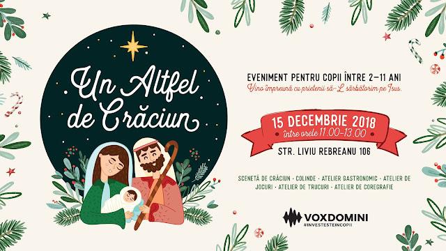 Un altfel de Crăciun la Vox Domini Timisoara