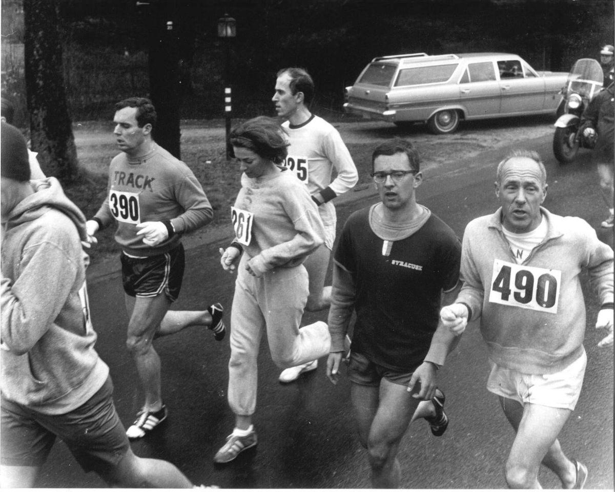 World Of Wheels Boston >> Kathrine Switzer, the First Woman to Run the Boston Marathon, 1967 ~ vintage everyday