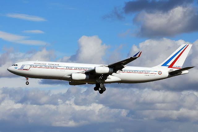 Gambar Pesawat Airbus A340 03