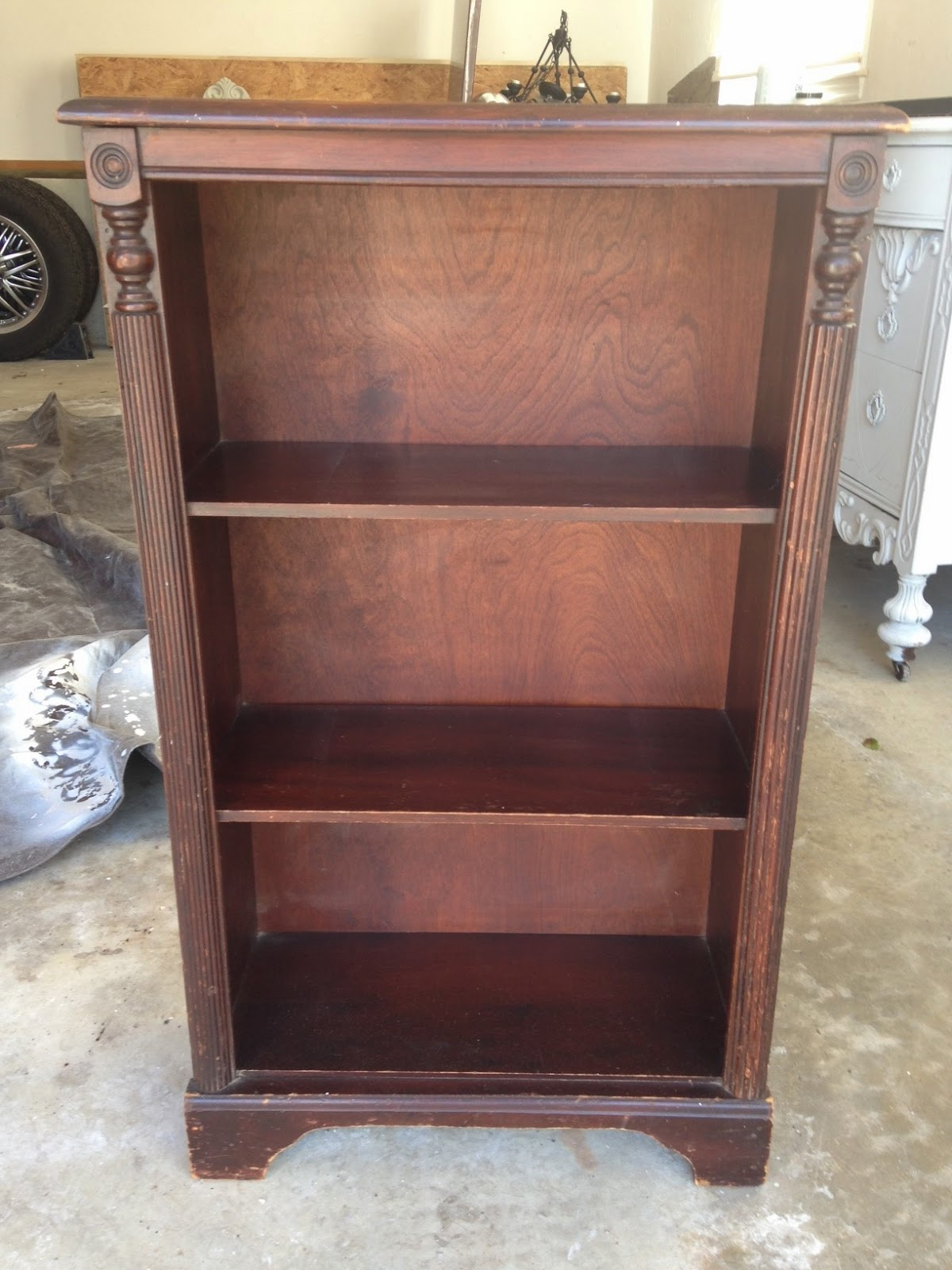 Bless Your Heart: Bookcase makeover using Annie Sloan ...