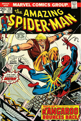 Amazing Spider-Man #126, the death of the Kangaroo
