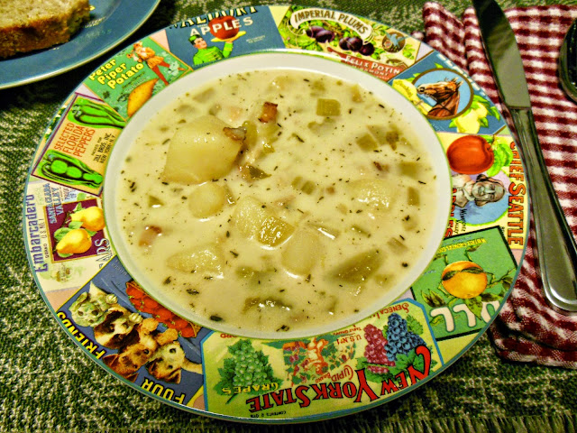 Potato Soup, the starting point for many great meals.