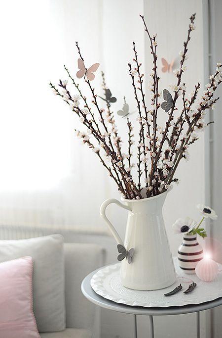 Aleja kwiatowa blog wn trzarski dekoracje do domu wielkanocne dekoracje w domu - Stilvolle dekoration ...