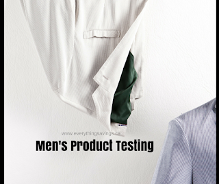 Product Testing at Home for Men