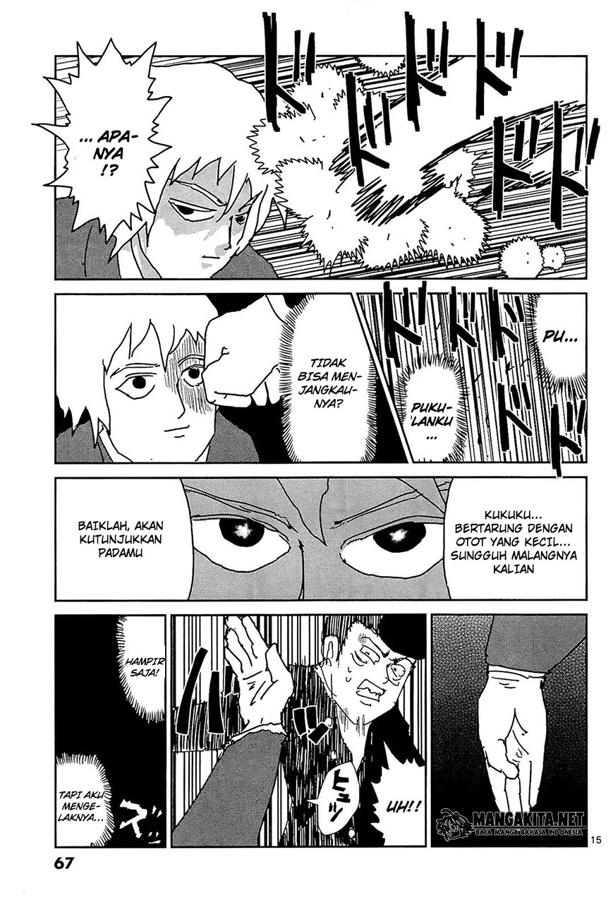 Mob Psycho 100 Chapter 13-16
