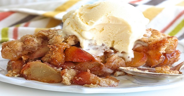 Snickerdoodle Peach Cobbler Recipe