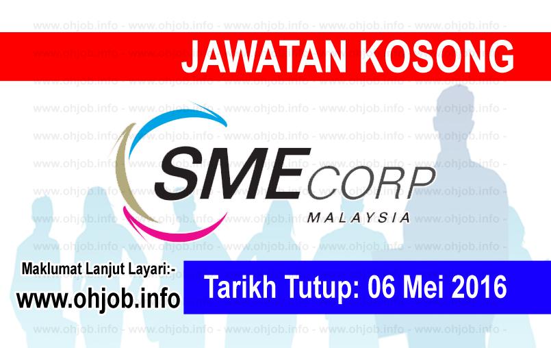 Jawatan Kerja Kosong SME Corporation Malaysia logo www.ohjob.info mei 2016