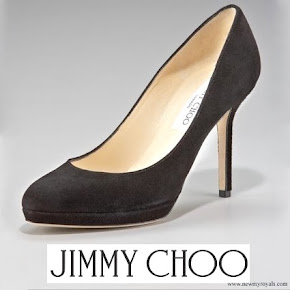 Kate Middleton Style Jimmy Choo Aimee Suede Platform Pump