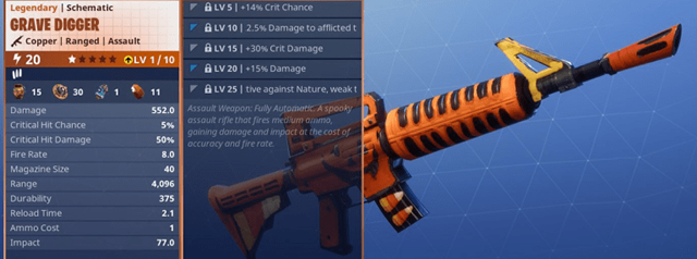 Fortnite 8 Weapons Greater Than The Legendary Scar