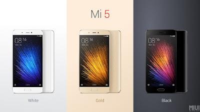 Mi 5 Colours