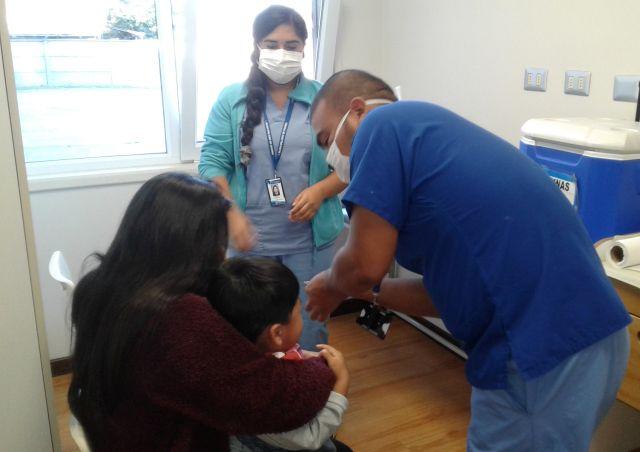Junji refuerza campaña de vacunación en Jardínes Infantiles