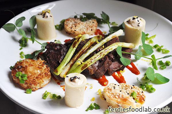 Ferdiesfoodlab london supper club battersea experiment recipe sous vide ox cheek w salad of palm hearts forumfinder Gallery