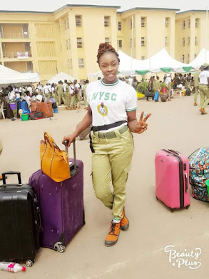 Tears As Female Corper Who Died After Train Accident In Lagos Is Buried In PH
