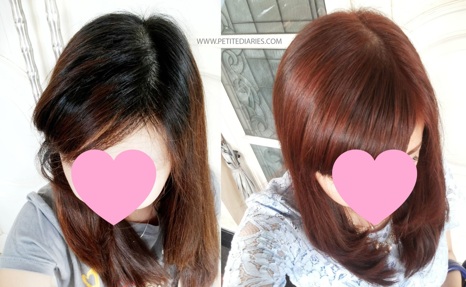 liese jewel pink hair dye result