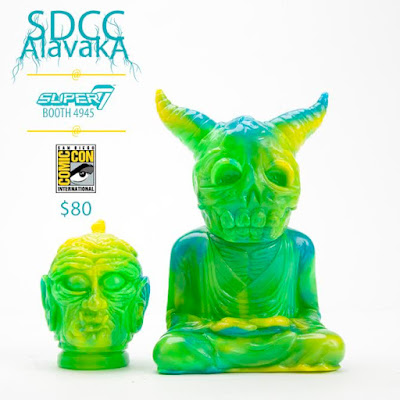 San Diego Comic-Con 2016 Exclusive Bodhisattva Alavaka Vinyl Figure by Devils Head Productions