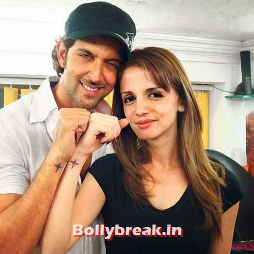Hrithik and Sussanne, Hrithik and Sussanne marriage in pictures