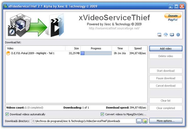 xVideoServiceThief portable