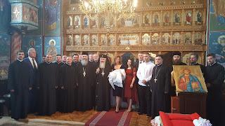 Botezul pruncului Stefana-Iustina Cismas, Parohia Maieru, Bistrita-Nasaud