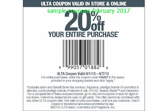 Ulta coupons for february 2017