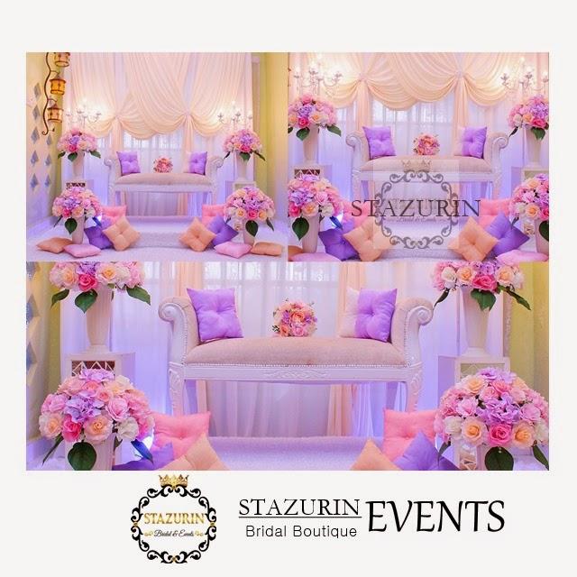 Pakej Persandingan Pertunangan Pernikahan Penuh Dari Stazurin Bridal Boutique