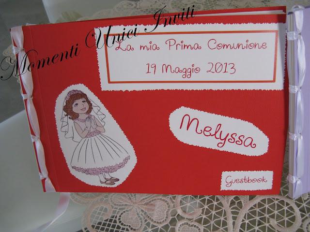IMG_5467 Guest Book Prima comunioneGuest Book