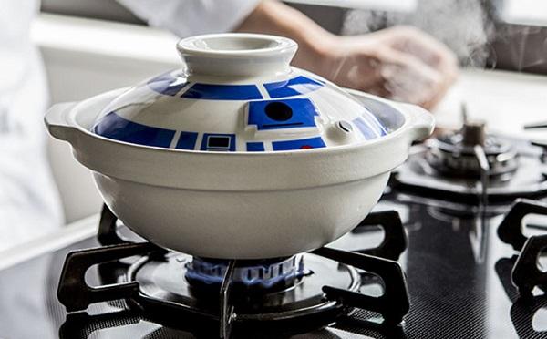 嫩編其實很想要的 R2-D2 をモチーフにした土鍋,翻攝自 ISUTA。