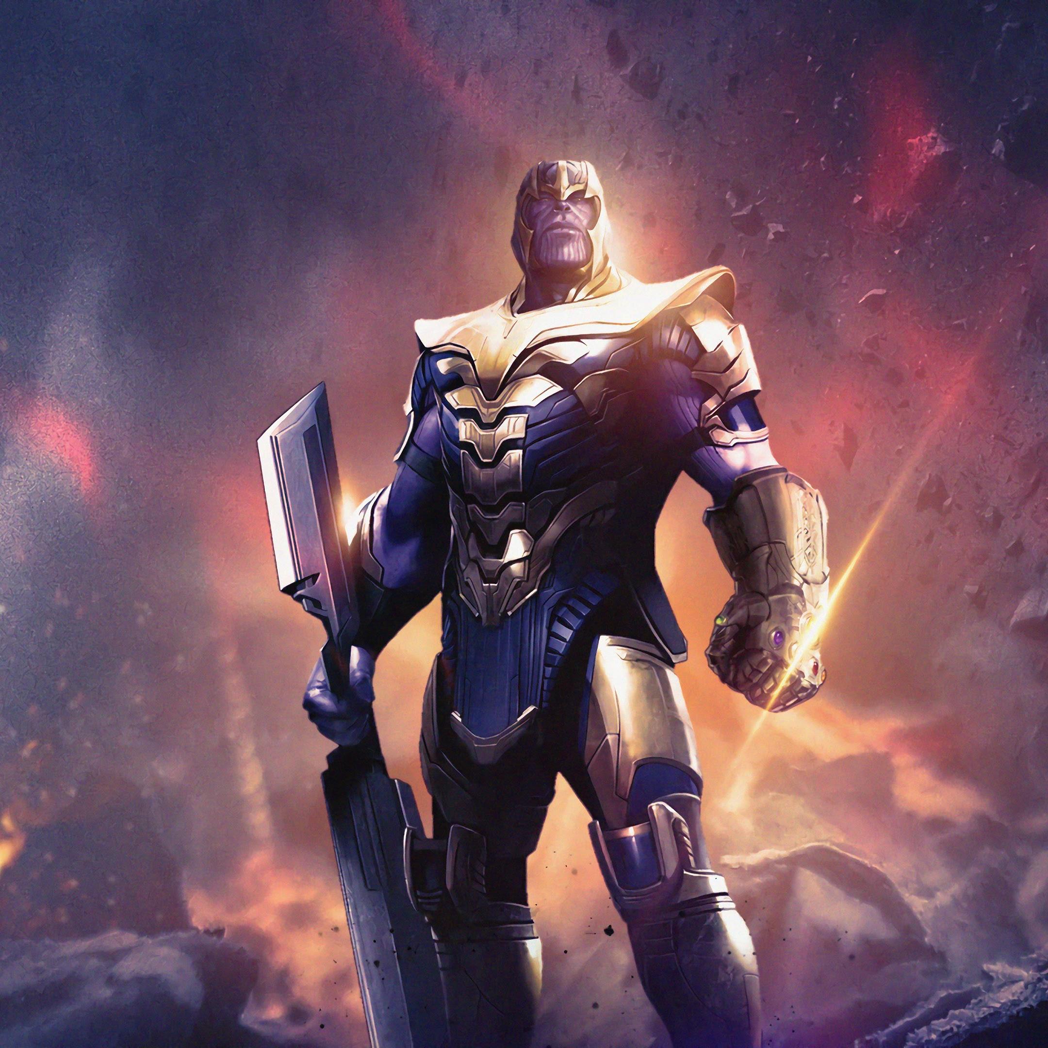 Avengers Endgame Thanos Weapon 4k 137 Wallpaper