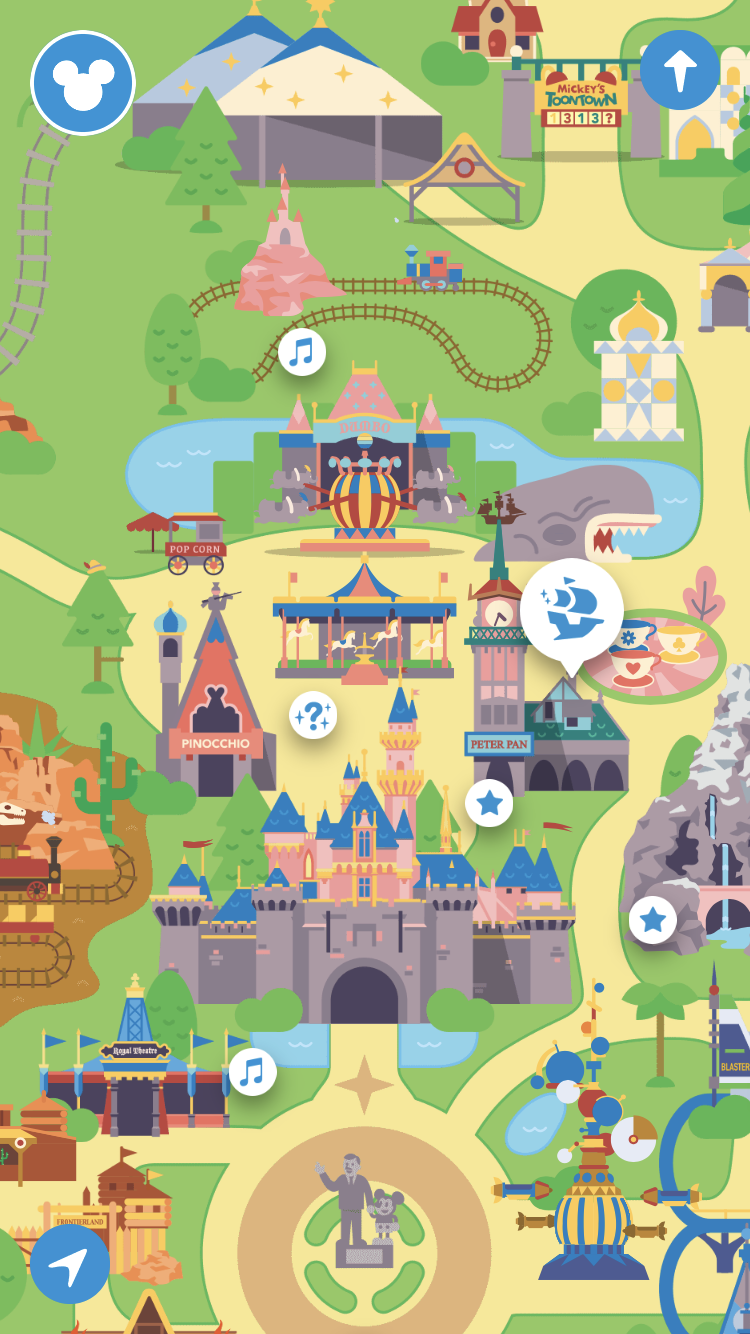 A Dole Whip A Day: Play Disney Parks App is Here! Disney Map App on