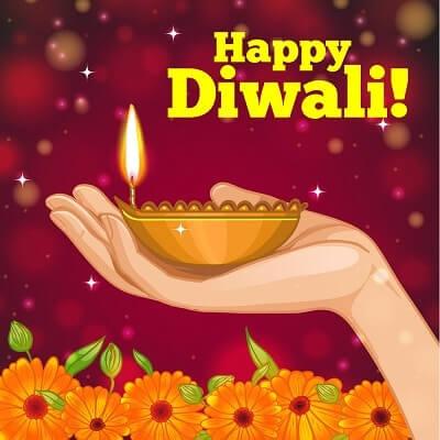 Diwali Diya Status Photo