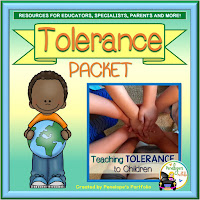 Tolerance Character Education - Social Skills Teaching Packet