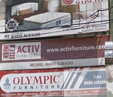 Toko Spring Bed Di Semarang Alamat No Tlpn Furniture Mebel