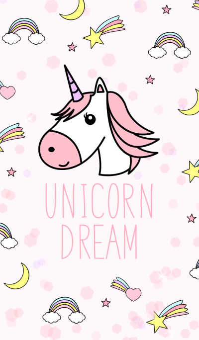 Unicorn Dream Pink
