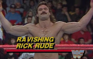 WWF / WWE ROYAL RUMBLE 1988 - RAVISHING RICK RUDE