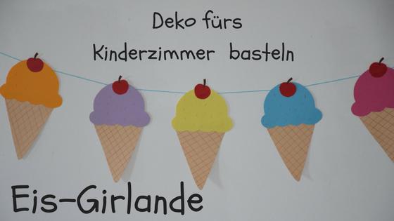 Familie Und Mehr Leckere Eistuten Als Kinderzimmer Deko