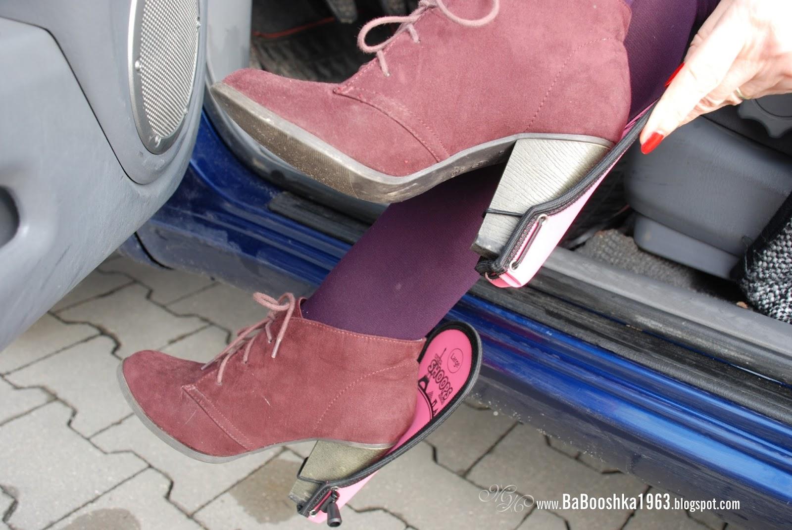 Shoopsshoes W Szpilkach Za Kierownicą