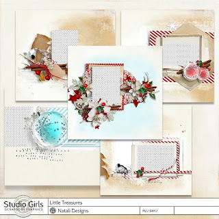 http://shop.scrapbookgraphics.com/Little-Treasure-Quick-Pages.html