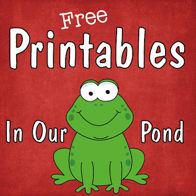 FREE printables from In Our Pond