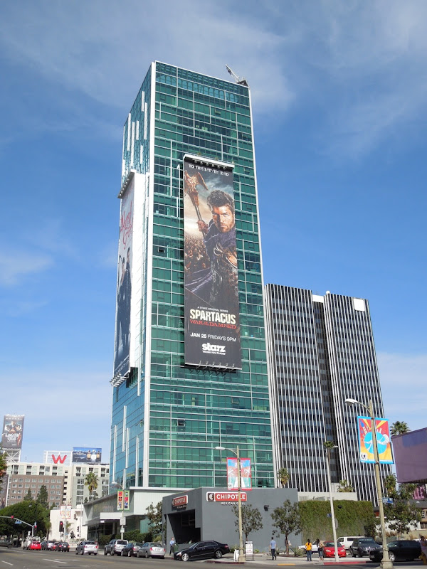 Spartacus War of the Damned billboard