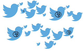 twitter mute feature to silently mute obnoxious followers