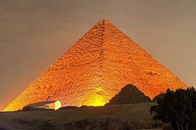 Piramisok: döbbenetes eredményt adott a hőkamerás vizsgálat