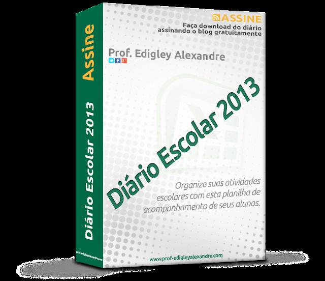 Diário Escolar 2012 liberado para download