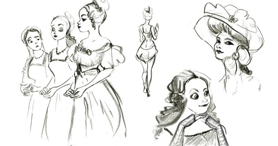 Marcos Cohen: Some victorian doodles!