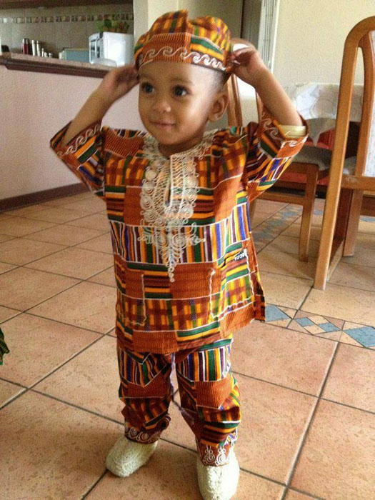 60 Pictures Of Cute Ankara Styles For Baby Boys Girls African