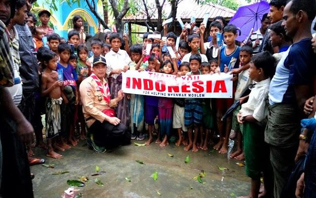 Tanpa Pendaftaran Jihad, Pramuka Sudah Sampai di Rohingya